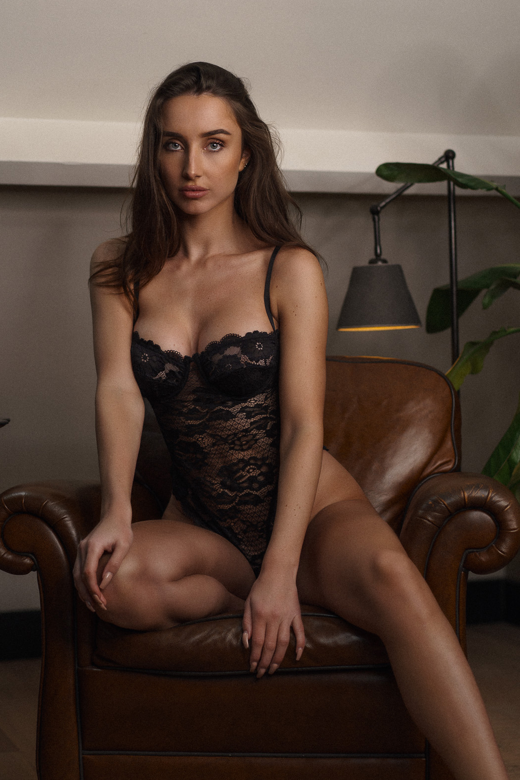 Sustainable rosa body with perfect fit lace